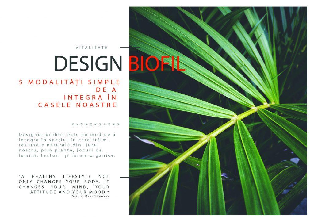 Design biofil